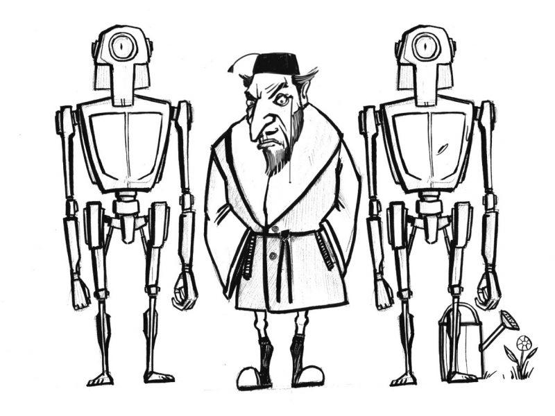 Дело №5 Первый закон робототехники